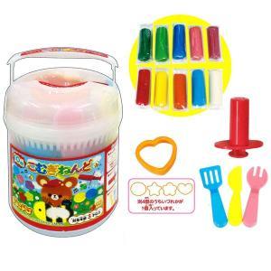10色こむぎねんど(カラフル 粘土 セット)知育玩具|sanyodo-shop