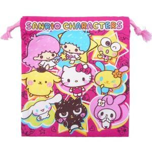 メール便可・サンリオキャラクターズ 巾着S|sanyodo-shop