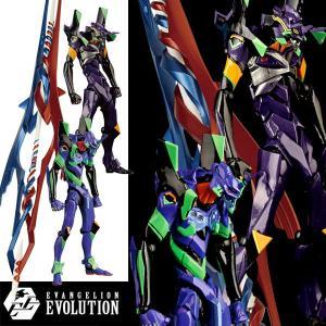 予約商品 EV-EX エヴァンゲリオン初号機&エヴァンゲリオン第13号機+ガイウスの槍 EVANGELION EVOLUTION フィギュア(2021年7月発売予定)|sanyodo-shop