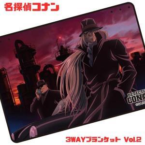 名探偵コナン 3WAYブランケットVol.2 C ジン/ウォッカ|sanyodo-shop