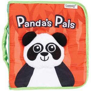 Lamaze めくってすくすく 布の絵本 こんにちはパンダ Panda's Pals(ベビーおもちゃ)ラマーズ|sanyodo-shop