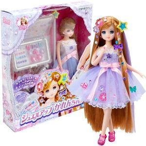 【リカちゃん 人形】キラキラパーツでヘアもドレスも全身ジュエルアップ!リカちゃんの新しいお友達ジュエ...