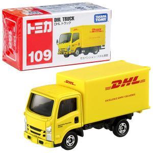 10月17日発売 トミカ No.109 DHLトラック(箱) sanyodo-shop
