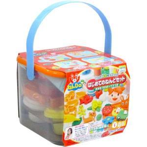 ねんDo はじめてのねんどセット おかたづけボックスつき(知育玩具)|sanyodo-shop