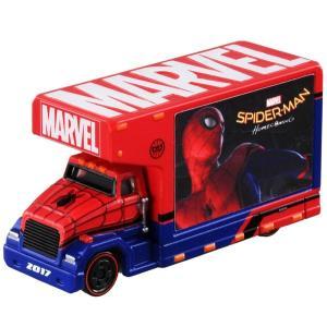 ミカのミニカーが入荷しました!スパイダーマン:ホームカミングの宣伝用トラック風です♪  【※ご注意事...