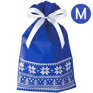 ノルディックスノーリボン付M(ラッピング袋)|sanyodo-shop