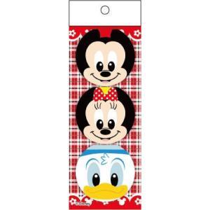 ミッキー&フレンズ丸型ふせんメモ3個入りパック25個セット|sanyodo-shop