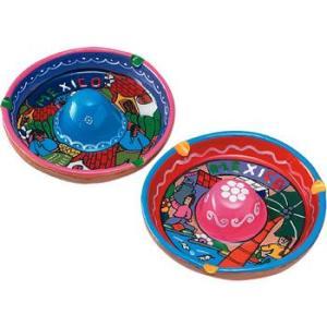 [5000円以上で送料無料] メキシコお土産 | ソンブレロ灰皿 1個【172110】|sanyodo