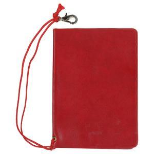 [旅行用品] パスポートカバー レッド 【T04501】(パスポートケース セーフティグッズ トラベルグッズ)|sanyodo