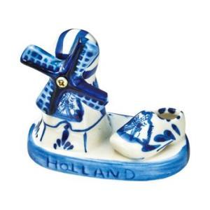 [5000円以上で送料無料] オランダお土産   オランダ デルフト焼風置物【171202】 sanyodo