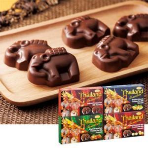 [5000円以上で送料無料] タイお土産 | エレファントチョコレート 4種セット【176006】|sanyodo