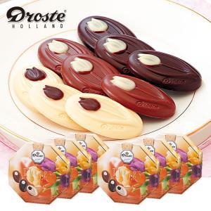 [送料無料]オランダお土産   ドロステ チューリップチョコレート 6箱セット【171196】 sanyodo