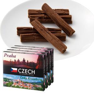 [送料無料] チェコお土産   チェコ プリエチョコレート 4箱セット【171227】 sanyodo