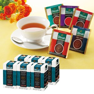 [5000円以上で送料無料] モルディブ・スリランカお土産 | ディルマ紅茶 ティーバッグ・バラエティパック 5種アソート 6箱セット【174054】|sanyodo