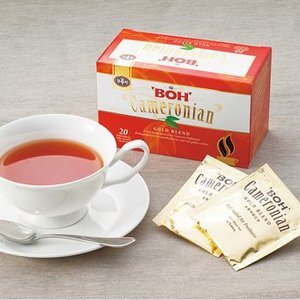 マレーシア | ボーティー(BOH TEA)キャメロン 紅茶 ティーバッグ 6箱セット【206085...