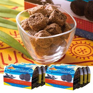 [5000円以上で送料無料] モルディブお土産 | モルディブ チョコレートパフ 6箱セット【174042】|sanyodo