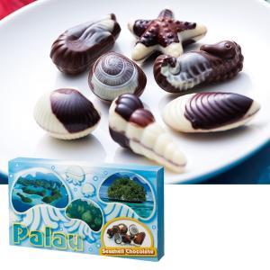 [5000円以上で送料無料] パラオお土産 | パラオ シーシェルチョコレート ドルフィン紙袋付き 1箱【174063】|sanyodo