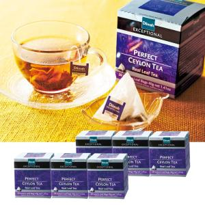 [送料無料] モルディブ・インド・スリランカお土産 | ディルマ紅茶 パーフェクトセイロン テトラティーバッグ 6箱セット【176112】|sanyodo