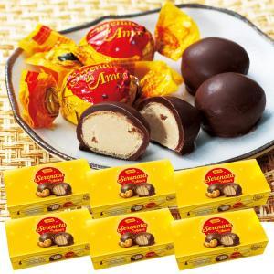 [賞味12/20][送料無料] ブラジルお土産 | ガロット セレナータ デ アモール チョコレート 6箱セット【172136】|sanyodo
