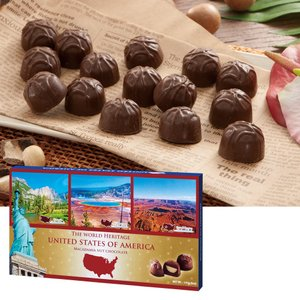 [5000円以上で送料無料] アメリカお土産 | アメリカ世界遺産チョコレート 1箱【172001】|sanyodo