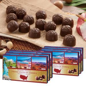 [送料無料] アメリカお土産 | アメリカ世界遺産チョコレート 6箱セット【172002】|sanyodo