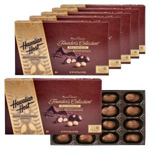 [送料無料] ハワイお土産 | ハワイアンホースト マカデミアナッツ ティキチョコレート 6箱セット【183004】