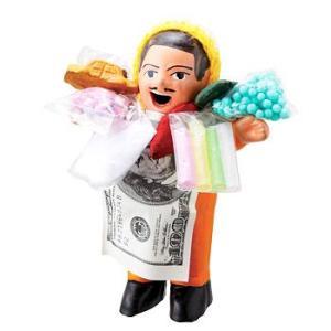 [5000円以上で送料無料] ペルーお土産 | エケッコおじさん人形 (エケコおじさん)【182125】