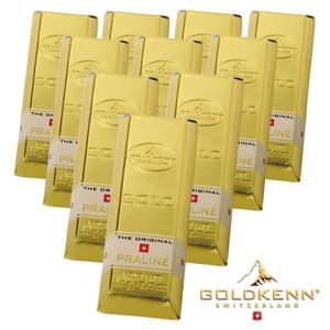 [5000円以上で送料無料] スイスお土産 | ゴールドケン ミニゴールドバー 10箱セット【171211】|sanyodo