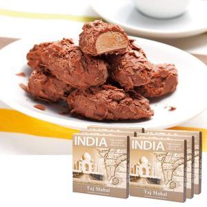 [送料無料] インドお土産   インド フレークトリュフチョコレート 6箱セット【176108】 sanyodo