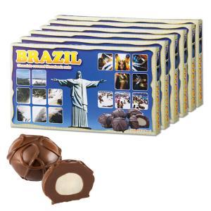 [送料無料] ブラジルお土産 | ブラジル マカデミアナッツチョコレート 6箱セット【172138】|sanyodo