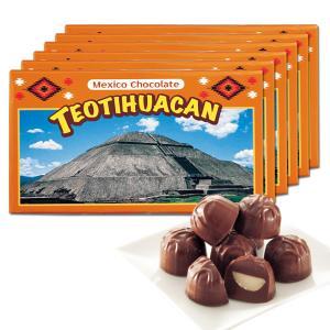 [送料無料] メキシコお土産 | メキシコ ティオティワカン マカデミアナッツチョコレート 6箱セット【172099】|sanyodo