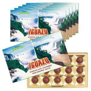 [送料無料] ブラジル・アルゼンチンお土産 | イグアスの滝 マカデミアナッツチョコレート 6箱セット【172137】|sanyodo