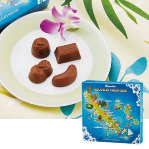 [5000円以上で送料無料] ニューカレドニアお土産   ニューカレドニア マップチョコレート【174083】