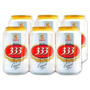 [5000円以上で送料無料]ベトナムお土産 | ベトナム 333(バーバーバー)ビール 6缶セット【R76016】|sanyodo