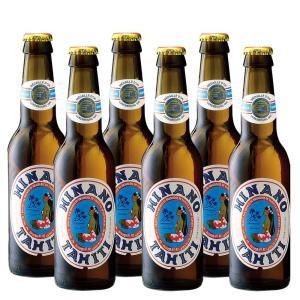 [5000円以上で送料無料] タヒチお土産 | ヒナノビール 瓶入り 6本セット【R74026】|sanyodo