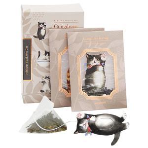 [5400円以上で送料無料] ゴンドリーン Gongdreen ネコ(猫) 紅茶 ハイビスカスティー...