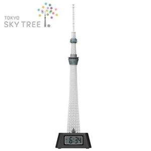 東京 お土産 東京スカイツリー R LEDライト付き フィギュアクロック 置時計 J92231 帰省土産 の商品画像