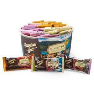 [送料無料] ハワイお土産 | ハワイアンホースト アイランドトリオ チョコレート 36袋入り【105546】|sanyodo