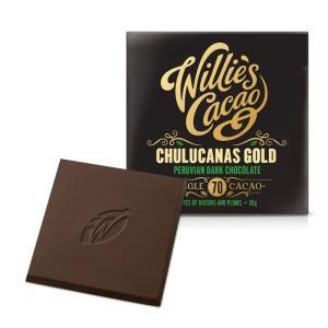[賞味3/30][特別価格][5000円以上で送料無料] ウィリーズカカオ チョコレート | ペルビアン・ゴールド チュルカナス70 ダークチョコレート【105739】|sanyodo