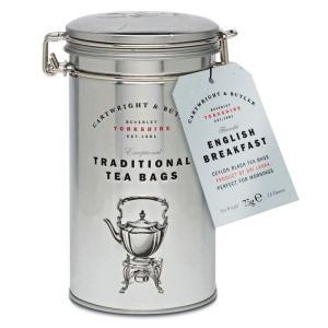 [5000円以上で送料無料][ホワイトデー] カートライトアンドバトラー | イングリッシュ・ブレックファースト・ティー 缶入りティーバッグ 紅茶【105694】|sanyodo