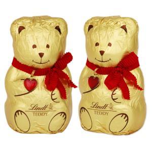 [5000円以上で送料無料][バレンタイン] スイスお土産 | リンツ Lindt テディ ペアセット チョコレート Bear For You【105818】|sanyodo