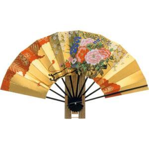 日本からの土産 飾り扇 花車|sanyodo