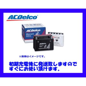AC Delco バイク用バッテリー DTX20L-BS 互換(YTX20L-BS)【初期充電済みにて発送致します!】|sanyodream