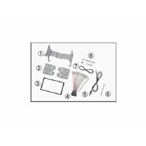 日東工業(カナック)カーAV取付キット N-WGN/N-WGNカスタム オーディオレス車 NKK-H85D|sanyodream