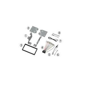 日東工業(カナック)カーAV取付キット シャトル GK8.GK9.GP7.GP8 NKK-H90D|sanyodream