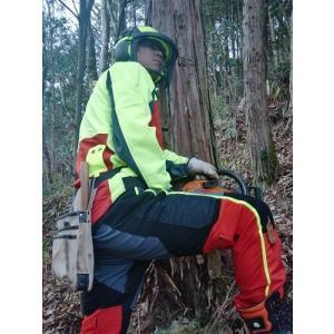 緑の雇用 安全向上対策費対象 チェーンソープロテクション ズボン インターフォーストInterForst スーパーコンフォート class1|sanyosyoji|02