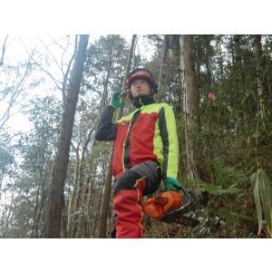 ジャケット 作業着 上着 オーストリア インターフォースト社製 スーパーコンフォート 赤 レッド 黄色 イエロー 林業|sanyosyoji|03