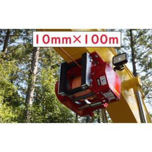林業集材用繊維ロープ 東京製綱繊維ロープ エースライン 10mm 100m |sanyosyoji