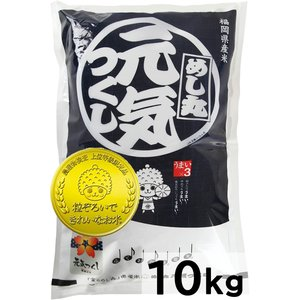 元気つくし 10kg(5kg×2) 平成29年産 金のめし丸...