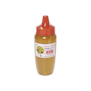 はちみつ百花蜜ボトル 国産 百花 蜂蜜 500g 完熟 の 純粋 蜂蜜 (とんがり容器)|sanyu-kousan